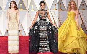 Oscar 2017: Bên cạnh loạt váy áo đẹp lộng lẫy cũng không thiếu những bộ làm tụt cảm xúc