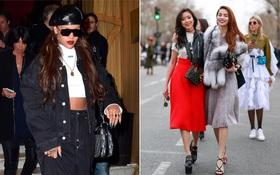 Hồ Ngọc Hà nổi bật tại Paris Fashion Week, Rihanna diện ngay BST Dior mới xuống phố