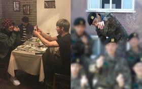 4 thành viên Big Bang cùng nhau tụ tập ăn tối ấm cúng, T.O.P bị ốm trong quân ngũ