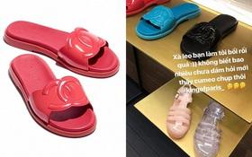 """NGẠC NHIÊN CHƯA: Chanel cũng đang bán dép nhựa """"quê"""" với giá những 16 triệu đồng!"""