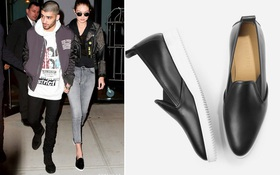 """Đôi loafer da của Gigi Hadid có gì đặc biệt mà tới 10.000 người """"đặt gạch"""" chờ mua?"""