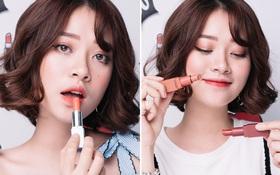 Hot girl Mai Anh bật mí 4 màu son cam siêu đẹp cô nàng hay dùng nhất