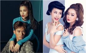 """Đông Nhi """"phân thân"""" thành 6 phiên bản ấn tượng bên top 6 team """"The Voice"""""""