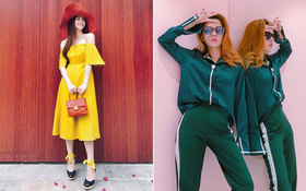 """Hà Hồ & Chi Pu cao tay """"chơi"""" màu sắc, sở hữu street style đẹp nhất tuần!"""