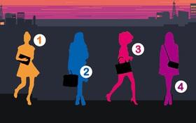 Hình dáng 4 phụ nữ tiết lộ nhiều điều bí mật về tính cách con người