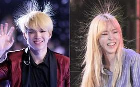 Đây là điều kỳ dị xảy ra khi các idol Hàn tẩy tóc quá nhiều