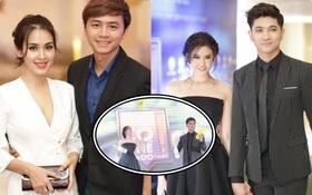 Vợ chồng Tú Vi - Văn Anh và Tim - Trương Quỳnh Anh đọ tài biểu diễn xiếc tại sự kiện