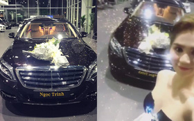 Sau túi hiệu, Ngọc Trinh tiếp tục chứng minh sự giàu có khi tậu xế hộp 12 tỷ đồng