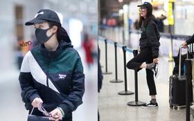 Dương Mịch xuất hiện mệt mỏi, ăn mặc đơn giản, đi giày đế bằng phải chăng vì bầu bì?