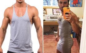 Anh chàng đặt mua áo ba lỗ thể thao trên mạng và nhận được thảm họa váy trùm mông