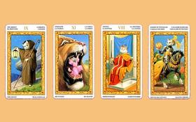 Chọn 1 trong 4 lá bài Tarot để tìm ra điều quan trọng nhất đối với bạn trong tình yêu