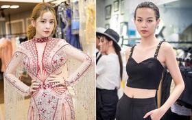 """Chi Pu & Phí Phương Anh tất bật thử đồ, quyết """"đánh chiếm"""" thảm đỏ VIFW bằng phong cách sexy"""