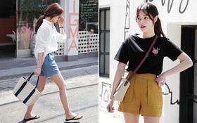 12 công thức diện shorts vải mùa hè xinh ơi là xinh lại mát rượi cho các cô nàng học theo