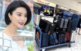 Mang 11 chiếc vali tới Cannes, bảo sao Phạm Băng Băng luôn biến hóa đa dạng trên thảm đỏ