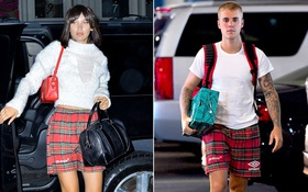 """Bella Hadid và Justin Bieber bị """"bắt quả tang"""" diện đồ đôi cùng nhau!"""