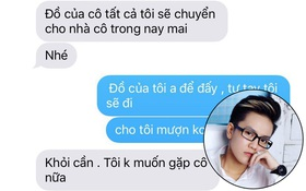 """Bạn gái cũ lên tiếng """"tố"""" Tô Trần Di Bảo (Bi Bảo) sống hai mặt, đánh đập và đuổi cô ra khỏi nhà"""
