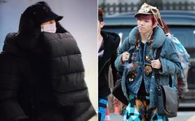 """1001 kiểu thời trang sân bay """"dị"""" như thể sợ không ai nhìn của các nam idol xứ Hàn"""