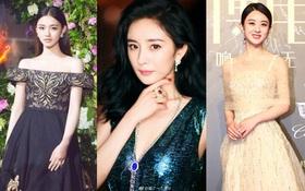 """Thảm đỏ Weibo Film's Night: Dương Mịch khoe vòng một căng đầy, """"Mỹ Nhân Ngư"""" Lâm Duẫn sang chảnh """"đè bẹp"""" đồng nghiệp"""