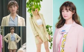 """Kim Ji Won trong """"Đời Tôi Hạng Bét"""": Nhân viên bách hóa toàn diện đồ bình dân nhưng hứng lên cũng """"quất"""" luôn bộ đồ 17 triệu đồng"""