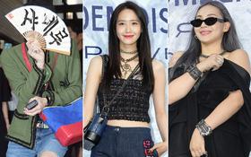 Cùng tại sự kiện Chanel: G-Dragon lấy quạt che mặt, CL liên tục kéo váy, Yoona thì đẹp bất chấp