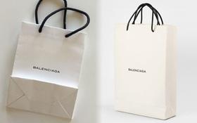 Hoang mang: hai chiếc túi giống hệt nhau của Balenciaga, một cái cho không - một cái giá... 25 triệu đồng!