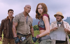 """The Rock"" nóng bỏng trong trailer đầu tiên của ""Jumanji: Welcome to the Jungle"""
