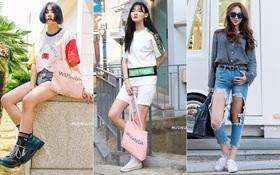 Mùa hè phải diện đồ vừa xinh vừa năng động như giới trẻ Hàn mới là chuẩn!