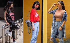 """Street style 2 miền: Phong cách bụi bặm lên ngôi, bạn trẻ nào cũng """"chất bá cháy"""""""