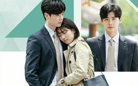 Suzy tựa đầu vào vai Lee Jong Suk làm nũng khiến fan sốt ruột hóng phim