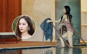Ai cũng thấy Krystal diện đồ bơi quá đẹp cho tới khi nhận ra điều kì cục này!
