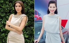 """""""Đụng hàng"""" kiểu đầm cũ của Đặng Thu Thảo, liệu Minh Tú có đẹp hơn Hoa hậu?"""