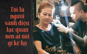 """Bà thợ may 71 tuổi mê xăm hình ở Sài Gòn: """"Tôi là người sành điệu, lạc quan nên ai nói gì kệ họ"""""""