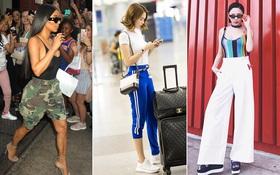 """Ngọc Trinh bị soi vì mặc """"quần què"""", Tóc Tiên và Kim Kardashian mang đồ bơi ra phố"""
