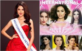 """Thùy Dung được dự đoán trở thành Á hậu 2 của """"Hoa hậu Quốc tế 2017"""""""