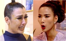Drama The Face: Bị học trò nói không công bằng, đòi ra về, Hoàng Thùy nổi giận đùng đùng!