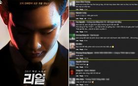 """Đến lượt khán giả Việt kêu trời vì """"Real"""" - phim """"xoắn não"""" nhất xứ Hàn hiện nay"""