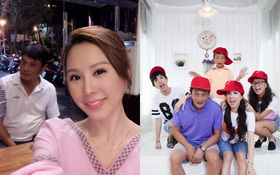 """Hoa hậu Thu Hoài vẫn thân thiết gọi người chồng cũ từng bạo hành là """"gia đình"""""""