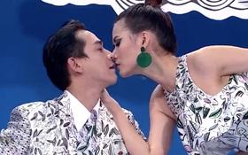 """Next Top Model: Cận cảnh Cao Thiên Trang """"cực gan"""", dám hôn cả Hứa Vĩ Văn!"""