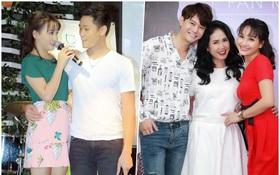 """Chồng thật và """"chồng màn ảnh"""" của Bảo Thanh lần đầu công khai chạm trán"""