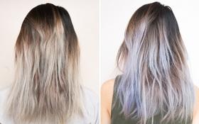 Cô nàng này đã thử nhuộm tóc tại nhà với công thức tự pha chế và kết quả hết sức bất ngờ