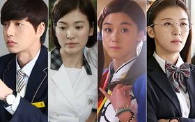 """""""Hậu quả"""" khôn lường khi diễn viên Hàn U40, U50 mặc... đồng phục học sinh"""