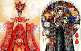 12 bản phác thảo trang phục hút ngàn like, được mong hiện thực hóa ngay tại Hoa Hậu Hoàn vũ