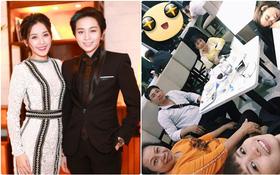Chi Pu và mẹ đi du lịch Hàn Quốc cùng gia đình Gil Lê