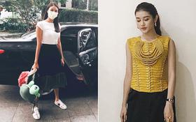 """Lan Khuê diện street style giản dị """"như đi chợ"""", Huyền Mi lần đầu mặc """"quái"""" khác hẳn thường lệ"""