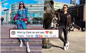 """Kim Lý mang giày đôi, nói """"Cảm ơn em yêu"""" bằng tiếng Việt với Hồ Ngọc Hà"""