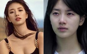 Lộ bọng mắt phờ phạc, Suzy xuống sắc đến đáng thương