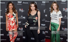 """Đi New York cùng Kim Lý nhưng Hồ Ngọc Hà lại """"lẻ bóng"""" tại sự kiện từ thiện toàn sao Hollywood"""