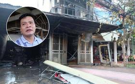 """Vụ cháy nhà 5 tầng khiến 2 bé gái tử vong: Tôi nghe """"Cháu ở đây"""" nhưng khói lửa lớn nên giọng cả hai lịm dần"""