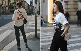 Cùng ở Milan mới thấy, Thanh Hằng và Kỳ Duyên quả có sự tương đồng khó tả về khoản street style