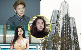 Hóa ra bạn gái cũ nghiện ngập của T.O.P làm hàng xóm với loạt sao lớn ở khu căn hộ cao cấp bậc nhất Seoul